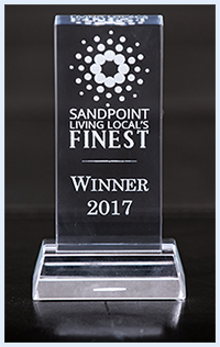 Awarded Sandpoints Finest 2017